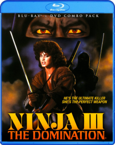 Ninja III - The Domination blu art
