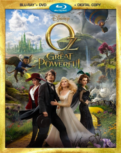 Oz the Great and Powerful blu art