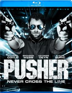 Pusher blu art