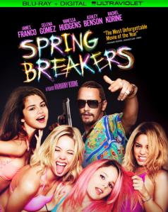 Spring Breakers blu art