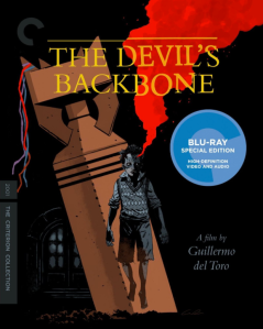 The Devil's Backbone blu art