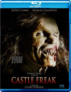 Castle Freak blu art