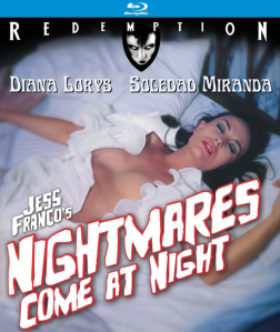 Nightmares Come At Night blu art