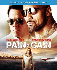 Pain and Gain blu art