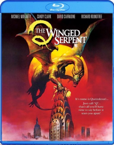 Q The Winged Serpent blu art