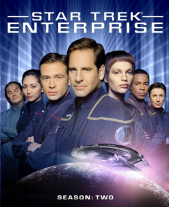 Star Trek Enterprise S2 blu art