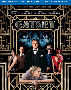 The Great Gatsby 3D blu art