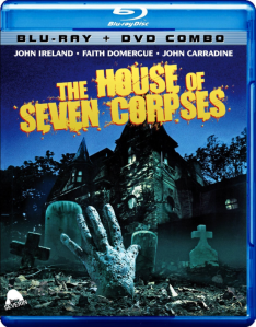 The House of Seven Corpses blu art