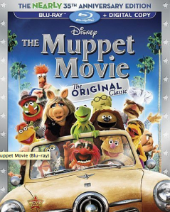 The Muppet Movie blu art