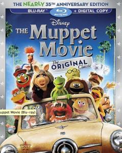 The Muppet Movie blu art