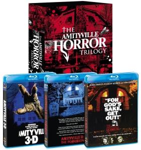 Amityville Trilogy blu art