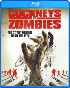 Cockneys vs Zombies blu art