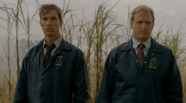 McConaughey and Harrelson in True Detective