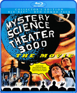 Mystery Science Theater 3000 The Movie blu art