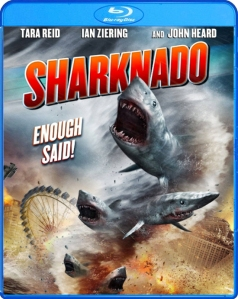 Sharknado blu art