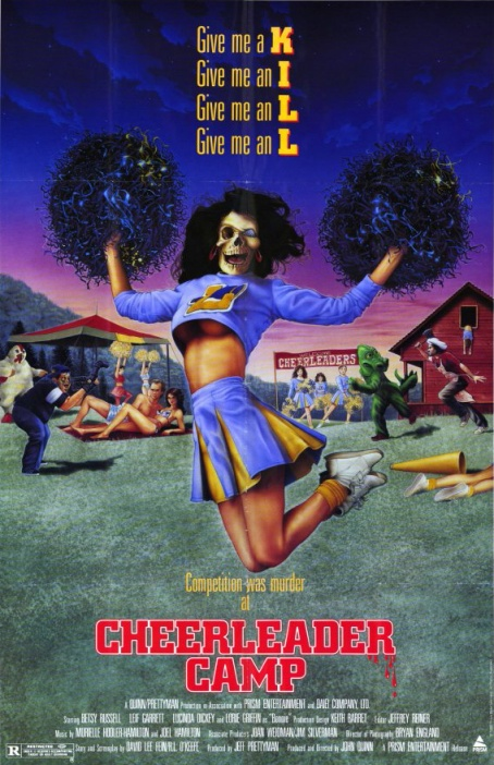 Cheerleader Camp movie poster