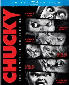 Chucky the Complete Collection blu art