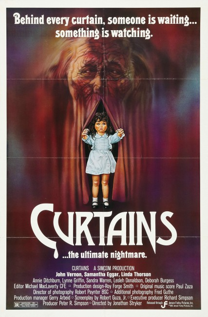 Curtains movie poster