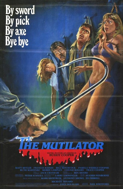 The Mutilator movie poster