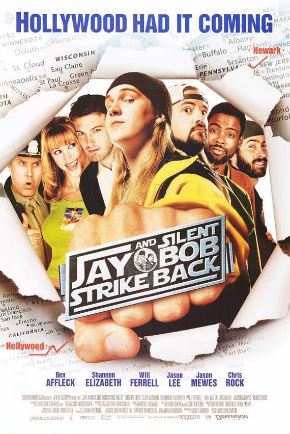 Jay & Silent Bob Strike Back poster