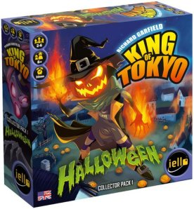 King of Tokyo Halloween expansion pack