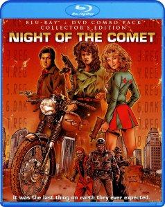 Night of the Comet blu art