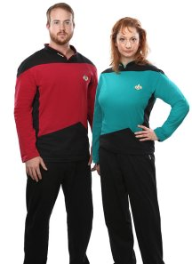 Star Trek TNG pajamas