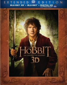 The Hobbit An Unexpected Journey Extended Edition blu art