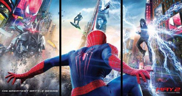Amazing Spider-man 2 multi poster