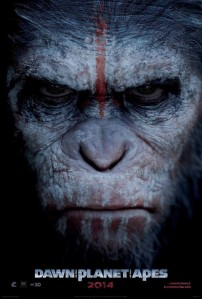 Dawn of the Planet of the Apes poster Caesar