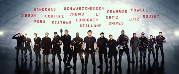 Expendables 3 teaser