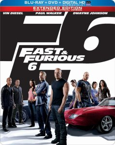 Fast and Furious 6 blu art