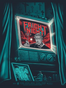 Fright Night ghoulish gary poster