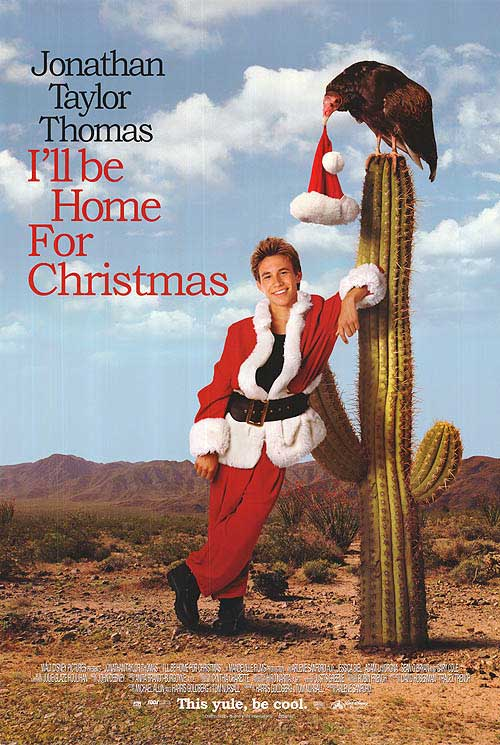 ill be home for christmas poster