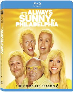 Its Always Sunny Season 8 blu art