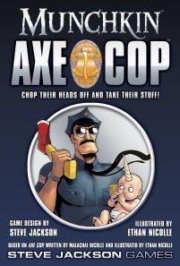 Munchkin Axe Cop game