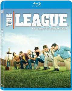 The League Season Four blu art