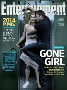 EW Fincher Gone Girl cover