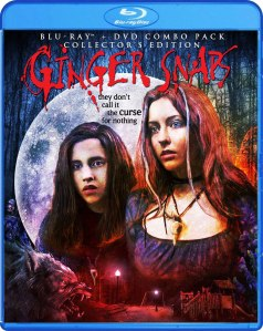 Ginger Snaps blu art from Scream Factory