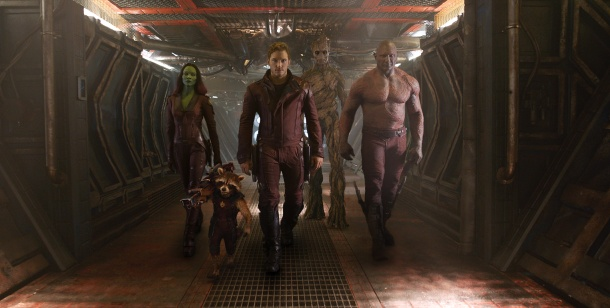Guardians of the Galaxy high def movie still