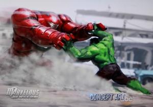 Hulkbuster concept art Avengers 2