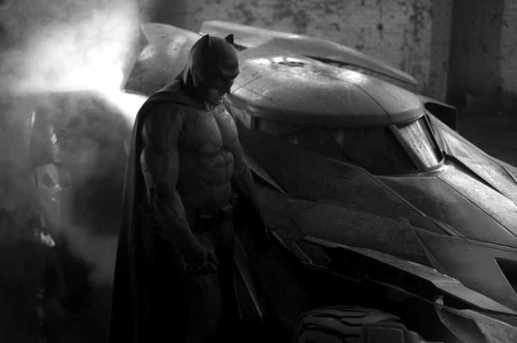 Batman suit and car