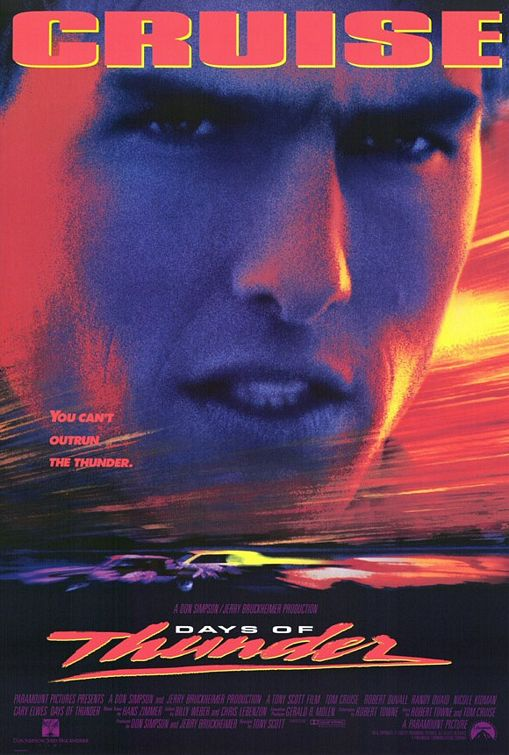 Days of Thunder poster