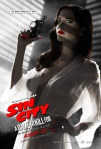 Eva Green Sin City character poster