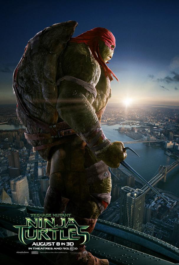 Raphael TMNT 2014 poster