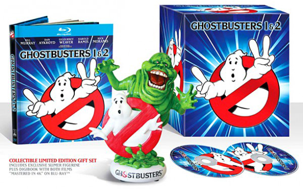 Ghostbusters 30th Blu-ray releases