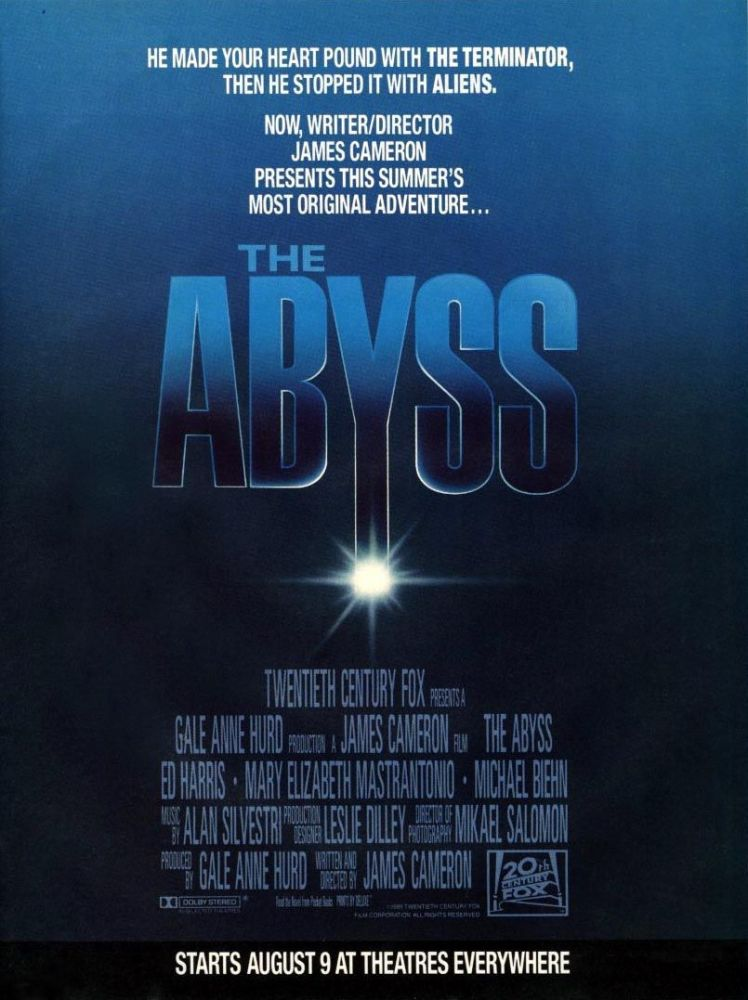 The Abyss movie poster