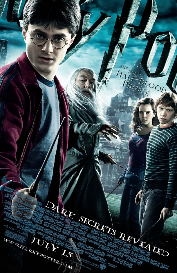 Harry Potter and the Half Blood Prince movie poster